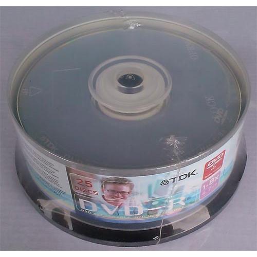 Купить DVD-R TDK 4.7GB Cake25 8x