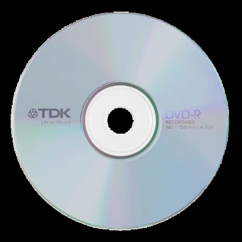 Купить DVD-R TDK 4.7GB Cake50 16x