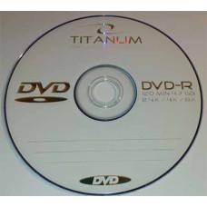 DVD-R Titanum 4.7Gb Bulk50 16x