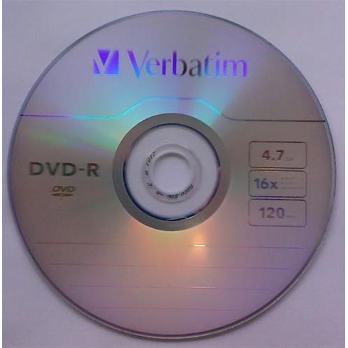 Купить DVD-R Verbatim 4.7GB Bulk50 16x Wrap 43788