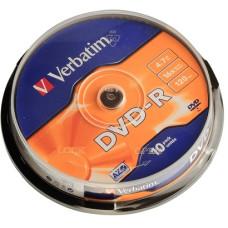 DVD-R Verbatim 4.7GB Cake10 16x