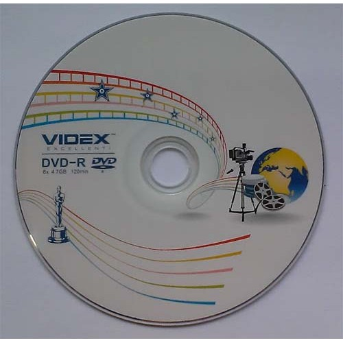 Купить DVD-R Videx 4.7GB Bulk50 16x Media