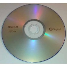 DVD-R X-Digital 4.7GB Bulk100 8x