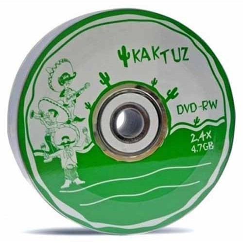 Купить DVD-RW Kaktuz 4.7GB Bulk25 2-4x