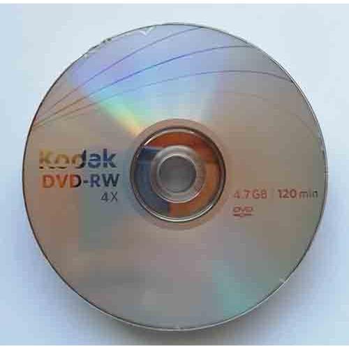 Купить DVD-RW Kodak 4.7Gb Bulk10 4x