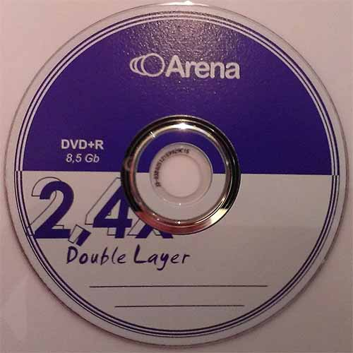 Купить DVD+R 8.5GB DL Arena Cake10 2.4x