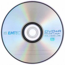 DVD+R 8.5GB DL Emtec Cake25 8x
