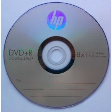 DVD+R 8.5GB DL HP Cake10 8x