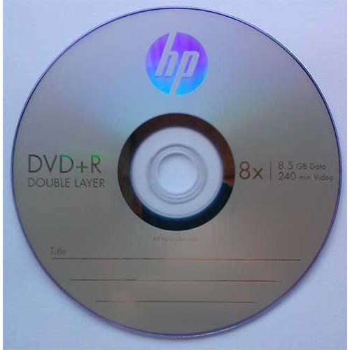 Купить DVD+R 8.5GB DL HP Cake10 8x