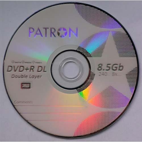 Купить DVD+R 8.5GB DL Patron Bulk100 8x