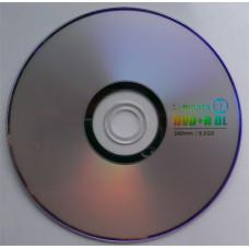 DVD+R 8.5GB DL Ridata Bulk50 8x