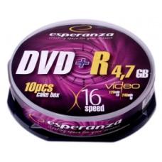 DVD+R Esperanza 4.7GB Cake10 8x