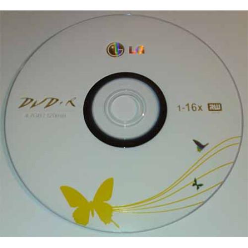 Купить DVD+R LG 4.7GB Bulk50 16x