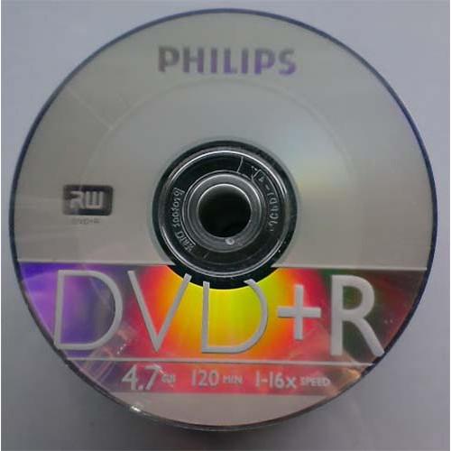 Купить DVD+R Philips 4.7GB Bulk50 16x