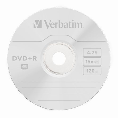 Купить DVD+R Verbatim 4.7GB Cake100 16x