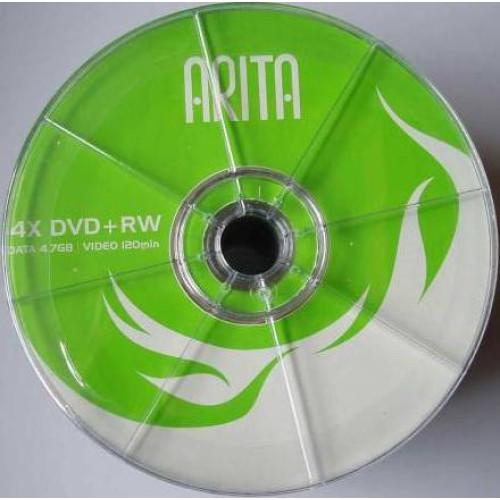 Купить DVD+RW Arita 4.7GB Bulk50 4x