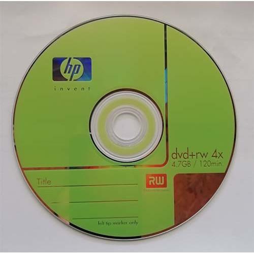 Купить DVD+RW HP 4.7GB Cake25 4x
