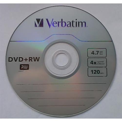 Купить DVD+RW Verbatim 4.7GB Cake10 4x