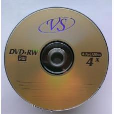 DVD+RW VS 4.7Gb Bulk50 4x