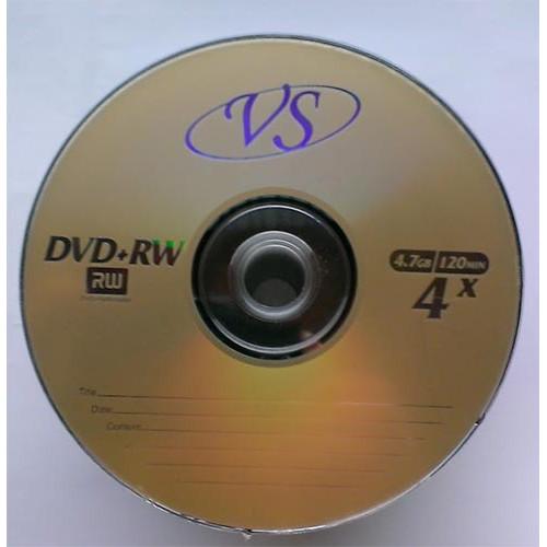 Купить DVD+RW VS 4.7Gb Bulk50 4x