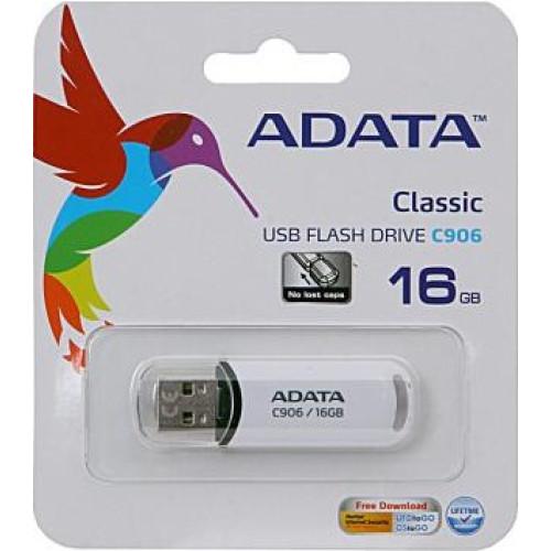 Купить Flash A-Data 16GB C906 White