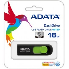 Flash A-Data 16GB UV120 Black-Green