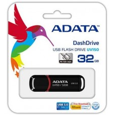 Flash A-Data 32GB UV150 Black USB 3.0