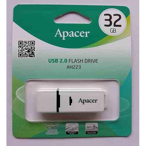Купить Flash Apacer 32GB AH223 White