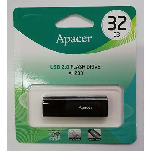 Купить Flash Apacer 32GB AH23B Black