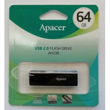 Flash Apacer 64GB AH23B Black