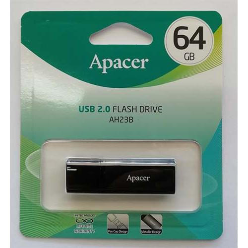Купить Flash Apacer 64GB AH23B Black