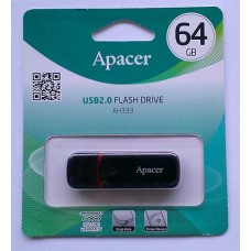 Flash Apacer 64GB AH333 Black