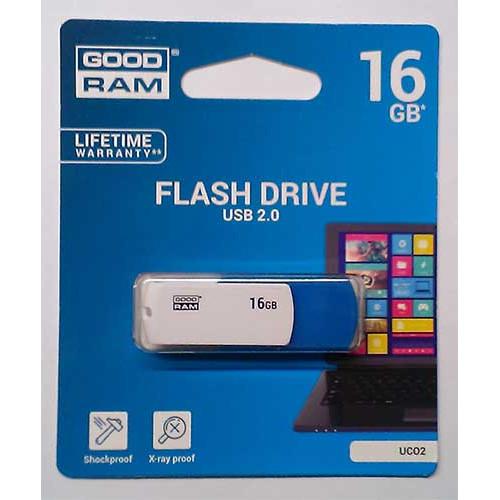 Купить Flash Goodram 16GB Colour Blue&White