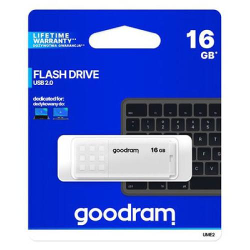 Купить Flash Goodram 16GB UME2 White