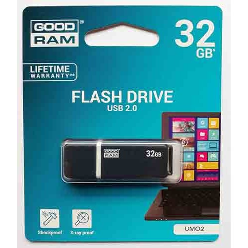 Купить Flash Goodram 32GB UMO2 Graphite