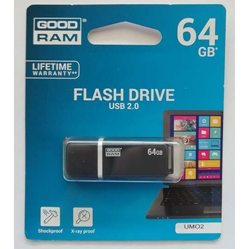 Купить Flash Goodram 64GB UMO2 Graphite