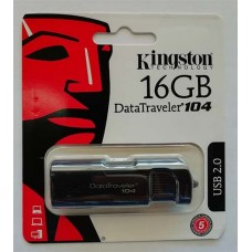 Flash Kingston 16GB DT104 Black