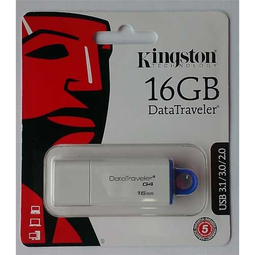Купить Flash Kingston 16GB G4 USB 3.0