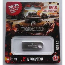 Flash Kingston 16GB SE9 Silver World of Tanks