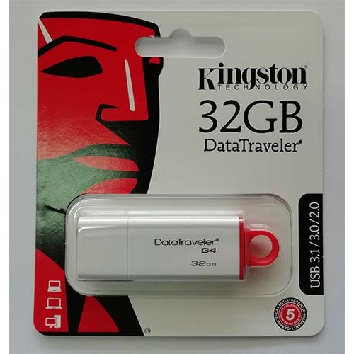Купить Flash Kingston 32GB G4 USB 3.0