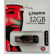 Flash Kingston 32GB Swivl Black USB 3.0