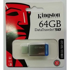 Flash Kingston 64GB DT 50 USB 3.0