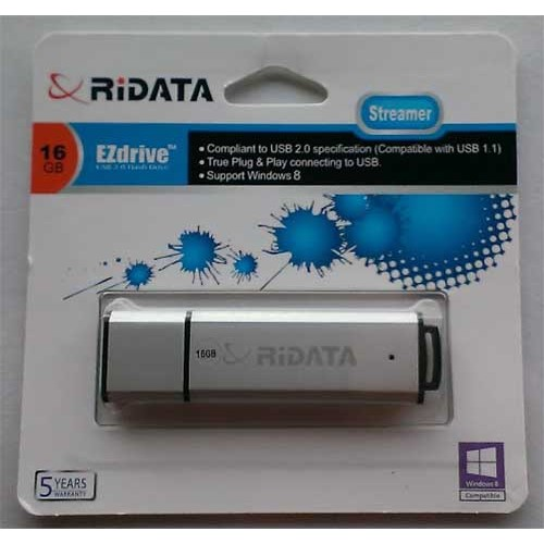 Купить Flash Ridata 16GB Streamer Silver