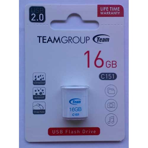 Купить Flash Team 16GB C151 White