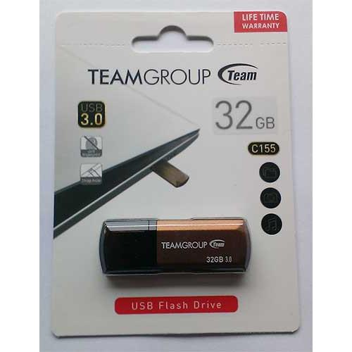 Купить Flash Team 32GB C155 Gold USB 3.0