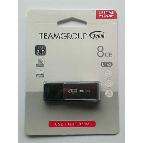 Купить Flash Team 8GB C142 Black