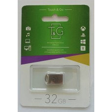 Flash T&G 32GB 105 Metal Series Silver
