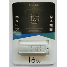 Flash T&G USB 16GB 011 Classic Series White