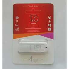Flash T&G USB 4GB 011 Classic Series White