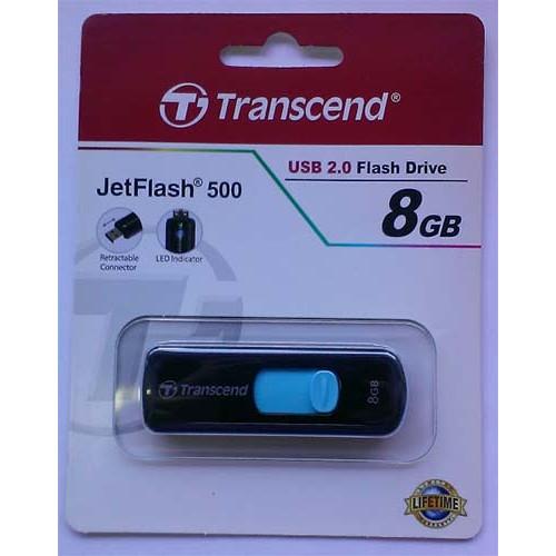 Купить Flash Transcend 8GB 500